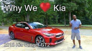 2018 Kia Stinger GT2 Review - We {heart} Kia