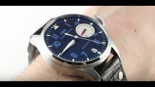 "IWC Big Pilot's Watch ""Alexei Nemov"" Limited Edition IW5004-31 Luxury Watch Review"