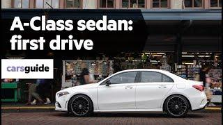 Mercedes-Benz A-Class sedan 2019 review