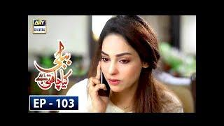 Bubbly Kya Chahti Hai Episode 103 - 3rd July 2018 - ARY Digital Drama