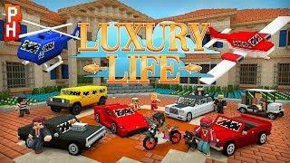 UNE VIE DE LUXE ! | RP MINECRAFT FR LUXURY LIFE