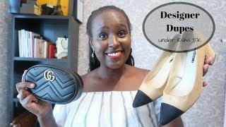LUXURY LOOK & FEEL FOR LESS | MAKE UP, CLOTHES, SHOES  | Nelly Mwangi