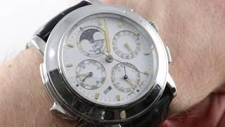 IWC Grande Complication Minute Repeater/Chrono/Perpetual IW3770 Luxury Watch Review