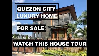 House for Sale in Quezon City - A Modern Luxury Designer is available in the Market!