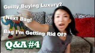 Guilty Buying Luxury? Next Bag? | Q&A #4 | Kat L