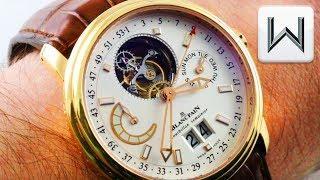 Blancpain Leman Tourbillon Semainier Grande Date Flying Tourbillon 2925-3642-53B Luxury Watch Review