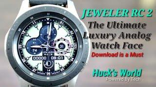 Galaxy Watch/Gear S3 The Ultimate Luxury Analog Watch Face Of 2019