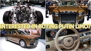 WATCH Russia's Aurus-Brand Luxury Cars Steal the Show at Geneva Motor Expo!