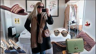 Spring Luxury Shopping Vlog ☆ DIOR GIVENCHY CHANEL & More + My New Hair, New Jewelry & OOTDs