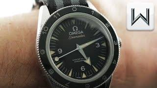 """Omega Seamaster 300 """"Spectre"""" Limited Edition (233.32.41.21.01.001) Luxury Watch Review"""