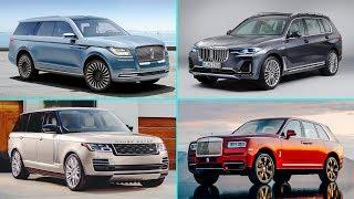 8 Best LUXURY Full-Size SUVs For 2019