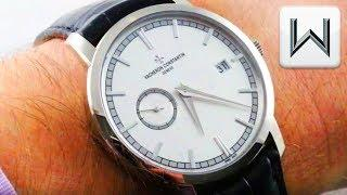 Vacheron Constantin Traditionnelle Self Winding (87172/000G-9301) Luxury Watch Review