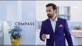 """Arsi Nami in """"Compass"""" Real-Estate Luxury advertisement"""