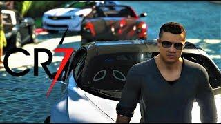 RONALDO'S LUXURY CAR MEET | CR7 | GTA V