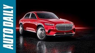 Vision Mercedes Maybach Ultimate Luxury Concept: Crossover siêu đẳng cấp |AUTODAILY.VN|