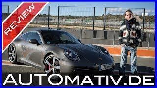Neuer Porsche 911 Carrera 4S (992) 2019 im Test und Fahrbericht - Landstrasse und Rennstrecke