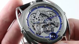 De Bethune DB28 Steel Wheels DB28SWTIS1PN/S Luxury Watch Review