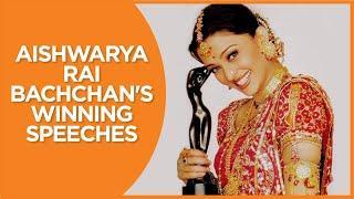 Aishwarya Rai Bachchan's Filmfare Award Winning Speeches | Filmfare Awards | Birthday Special