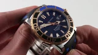 Carl F. Bucherer Patravi Scubatec 00.10632.24.33.01 Luxury Watch Review