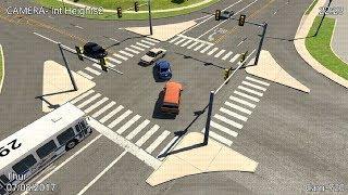 CCTV Crash Compilation 17 - BeamNG. Drive