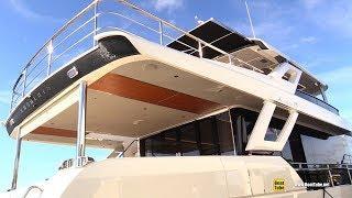 2019 Absolute Navetta 73 Luxury Yacht - Deck Interior Walkaround - 2018 Fort Lauderdale Boat Show