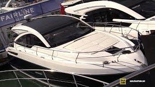 2019 Fairline Targa 43 Luxury Motor Yacht - Walkthrough - 2019 Miami Yacht Show