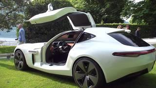 Luxury Cars expo at Villa D'Este 2019