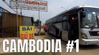Travel to Cambodia on the Giant Ibis Luxury Bus ????  (2018)