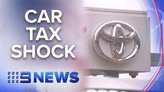 The luxury tax you pay on everyday cars | Nine News Australia