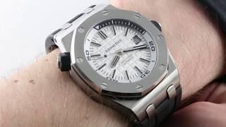Audemars Piguet Royal Oak Offshore Diver 15710ST.OO.A002CA.02 Luxury Watch Review