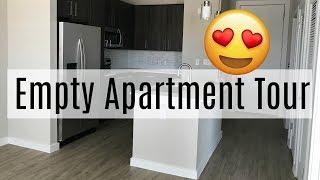 Empty Luxury Apartment Tour 2018 in  San Antonio  VLOG 3  | Brittany Daniel