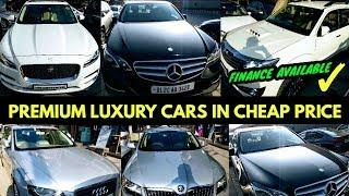 Luxury Cars In Cheap Price| Hidden Luxury Car Market In Delhi| Finance Available| Second Hand Cars