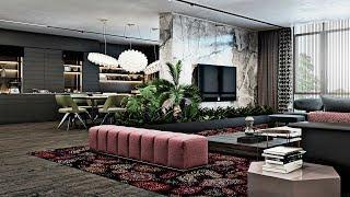 Luxury Apartment Interior | Modern Luxury Living Room Designs 2019 !