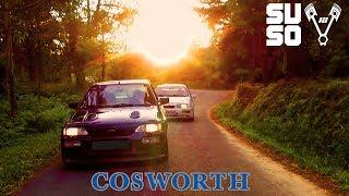 Ford Escort RS COSWORTH vs Sierra RS COSWORTH  Prueba Test Review en español