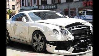 MONEY CAN`T BUY DRIVING SKILLS | expensive car crash compilation