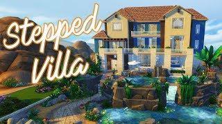 ???? Stepped Villa - Luxury Desert Home ????️ | Sims 4 Speed Build | @PenappleYT