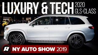 2020 Mercedes-Benz GLS-Class SUV is the latest in high-tech luxury | New York Auto Show 2019