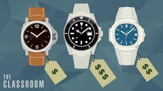 Luxury Watch Prices Explained   The Classroom