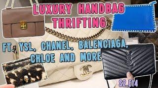 LUXURY HANDBAG THRIFTING FT. YSL, CHANEL, BALENCIAGA, CHLOE AND MORE | GOODWILL HUNTING S2.E14
