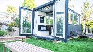 Fabulous Luxury Shipping Container Tiny House by Alternative Living Spaces