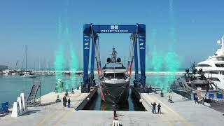 Luxury SuperYacht - Riva Yacht 50m M/Y Race - Launch - Ferretti Group