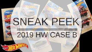 Sneak Peek of 2019 Hot Wheels Case B!!