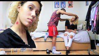 EXTREME HICKEY PRANK ON BOYFRIEND!! GONE WRONG!