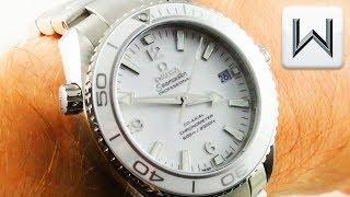 Omega Seamaster Planet Ocean (ALBINO CERAMIC) 600m 232.30.38.20.04.001 Luxury Watch Review
