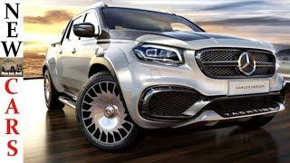 2019 Mercedes-Benz X-Class Yachting Edition: Luxury Pickup