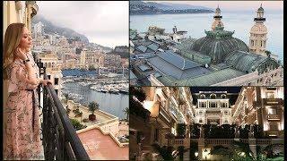 Vlog MONACO *  Luxury  Hotel  & Restaurants*  Монте Карло