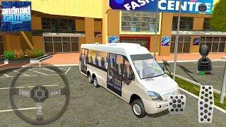 Shopping Mall Parking Lot #3 Mini Bus - Android Gameplay FHD
