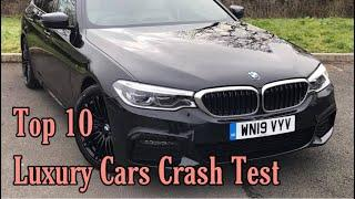 Luxury Cars Crash Test | Top 10 expensive Luxury Cars..