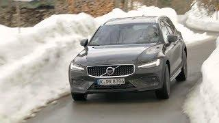2019 Volvo V60 Cross Country D4 AWD Pro - SNOW TESTDRIVE!!