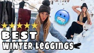 MUST HAVE Leggings for Cold Weather